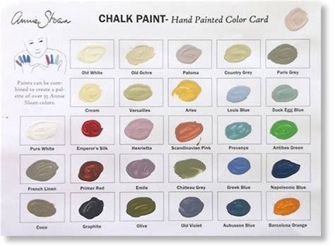 91 best images about chalk paint color palettes on sloan paints chalk paint