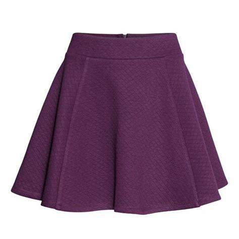 color uva faldas de moda 187 faldas color uva 1