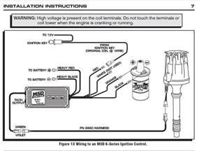 msd 6al box wiring diagram i 1955 chevy for ignition using an msd setup pro billet msd didst blaster coil msd