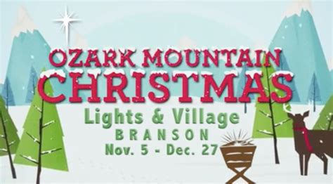 ozark mountain lights and ozark mountain lights to debut nov
