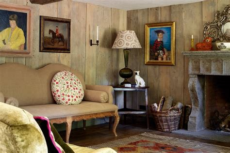 cottage living wood panelled cottage living room small living rooms