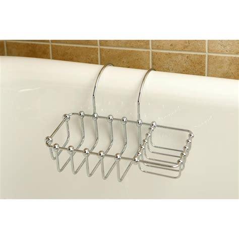 clawfoot bathtub shelf kingston brass chrome 8 quot clawfoot bath tub soap caddy shelf cc2161 faucetlist com