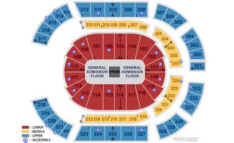 bridgestone arena seats bridgestone arena nashville tn seating chart view