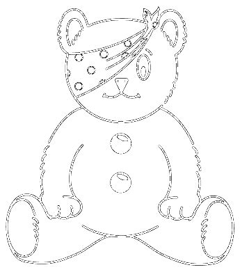 pudsey template printables children in need logo free logo design vector me