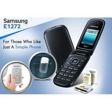 Hp Samsung Flip Duos Jual Samsung Gt E1272 Flip Duos White Davine Mobile