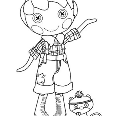 lalaloopsy coloring pages to p coloring pages