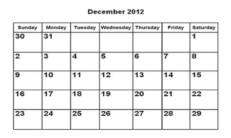 calendario del mes de diciembre 2012 y enero 2013 plantillas de calendario mes diciembre 2012 para imprimir