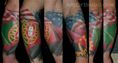 portuguese cross tattoo usa angola portugal by artofbiagio on deviantart