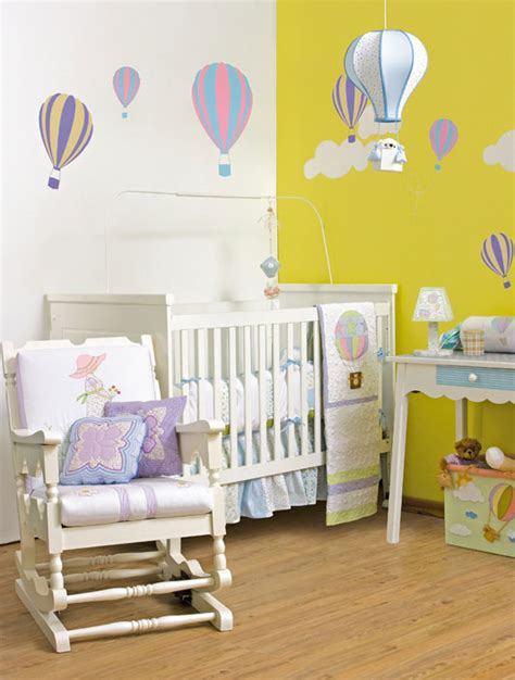 Diy Nursery Decorating Ideas 6 Diy Baby Room Decor Ideas Make Air Balloon Themed Baby Nursery