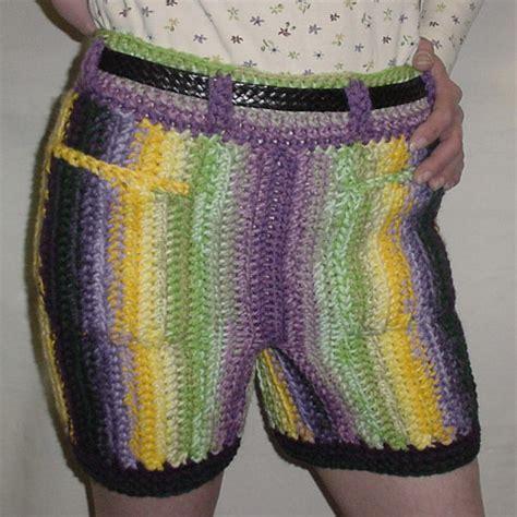 pattern crochet mens shorts crochet shorts 11