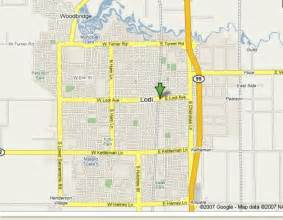 where is lodi california on the map map of lodi california california map