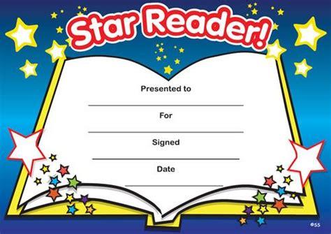 Printable Star Reader Certificates | print accelerated reading certificate star reader my