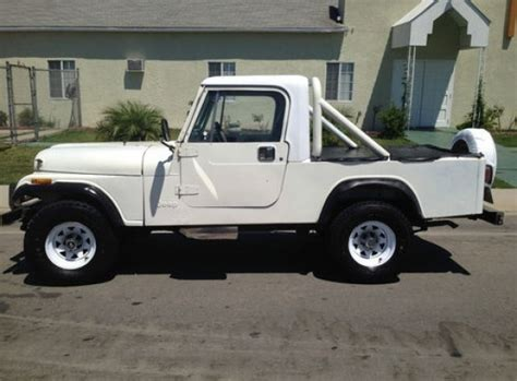 Jeep Scramblers For Sale 1981 Jeep Cj 8 Scrambler Bring A Trailer