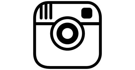White Instagram Logo Outline by Instagram Photo Logo Outline Free Logo Icons