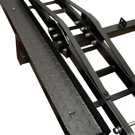 Hitch Hauler Rack by Steel Motorcycle Scooter Dirtbike Carrier Hauler Hitch
