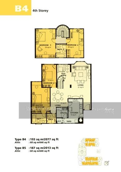 euro asia park floor plan euro asia park 25 woodleigh close 4 bedrooms 2077 sqft
