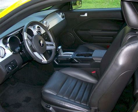 2005 Mustang Gt Interior by Screaming Yellow 2005 Ford Mustang Gt Coupe