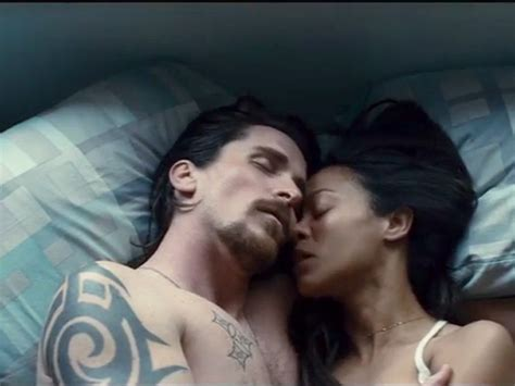christian bale tattoo out of the furnace cinema review out of the furnace film ireland