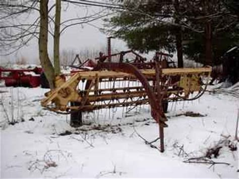 Used Farm Tractors For Sale New Holland 56 Hay Rake 2005