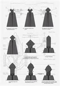 How To Make Darth Paper - dis mith darth vader origami diagram origami paperwork