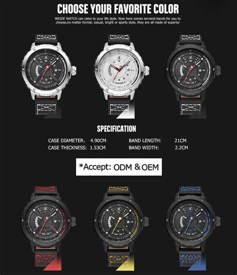 Jam Tangan Pria Dengan Tilan Sporty Dan To 0074114 weide jam tangan sporty pria uv1609 black black