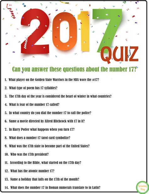 new year 2016 questions and answers take the 2017 quiz for new year s growing play