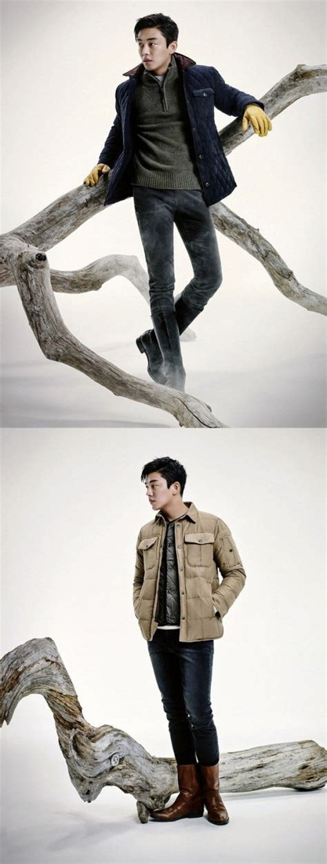yoo ah in shows yoo ah in shows his autumn image for jeep clothing brand