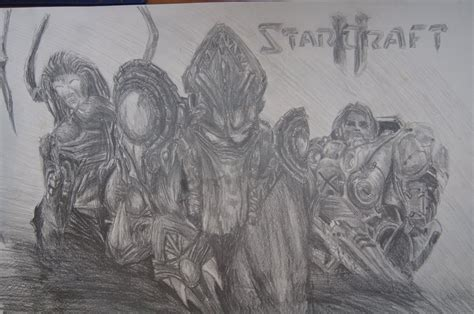 doodle starcraft starcraft 2 pencil drawing by tmdoodles on deviantart