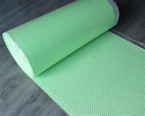 perforated polyethylene foam underlay foamtech