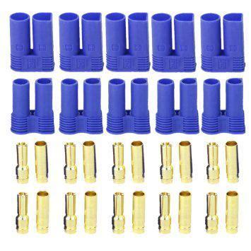 Xt60 10cm Cable Set ec5 and connectors set of 5