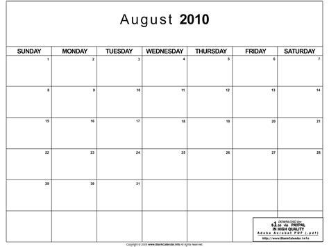 August 2010 Calendar Index Of Wp Content Uploads 2010 08