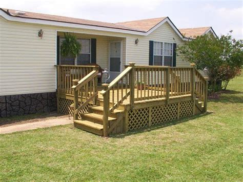 mobile home deck plans 1000 ideas about mobile home porch on pinterest