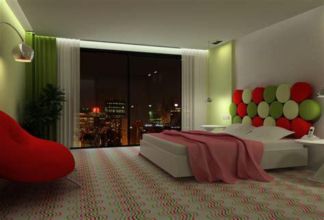 imagenes de recamaras verdes dormitorio rojo verde y blanco