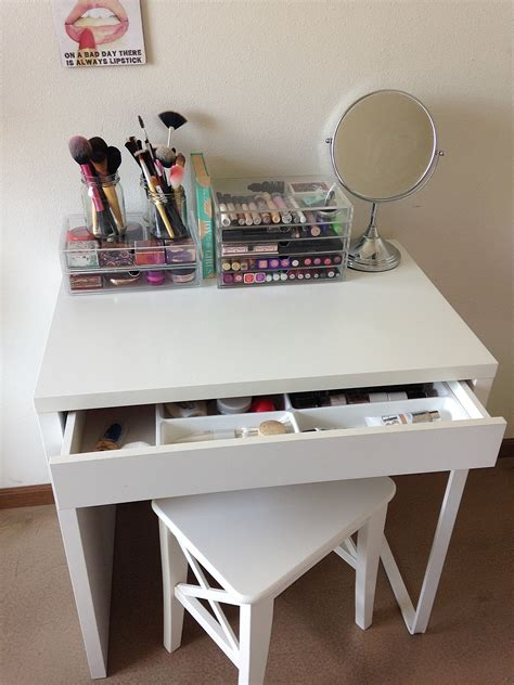 Ikea Micke As Vanity Desk Dressing Table White Ikea White Vanity Desk