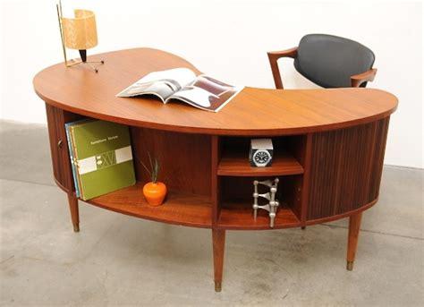 1950s modern tibergaard nielsen teak desk mid