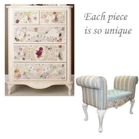 shabby chic mosaic furniture love the use of the pastel