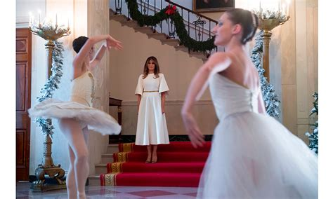 who pays for white house christmas melania s white house decor a white forest themed room and more details