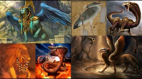 Imagenes Mitologicas Egipcias | top siete de criaturas mitol 243 gicas egipcias youtube