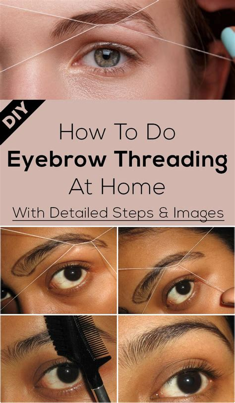 how to do eyebrow shaping at home world novelties makeup
