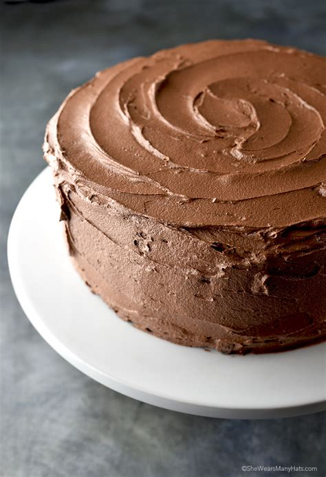 6 Ingredients And Directions Of Chocolate Frosting Receipt by Chocolate Butter Icing Recipe For Cakes