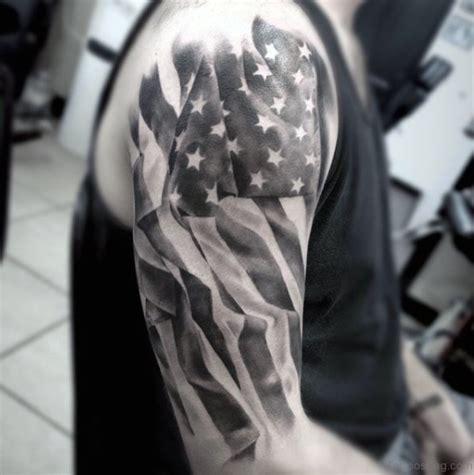 american flag half sleeve tattoo designs 53 top flag tattoos on shoulder