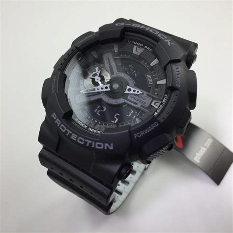 Casio G Shock Black casio g shock black digital analog ga110lp 1a