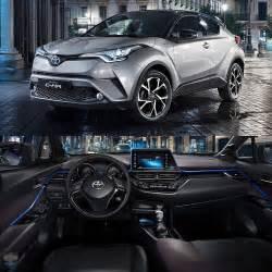 Carros Toyota Toyota C Hr 2017 Revelado Interior Do Novo Suv Compacto Da