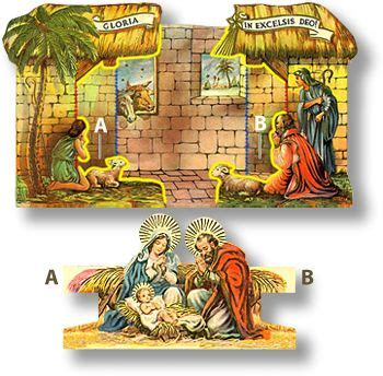 printable nativity diorama betlem a collection of ideas to try about other shops