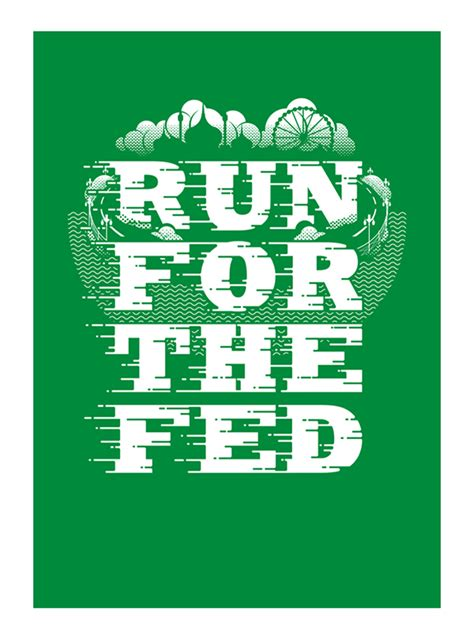 K Fed Running For The Border by Run For The Fed On Pantone Canvas Gallery