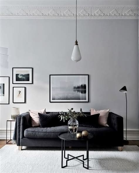 Black Sofa Grey Walls by 25 Best Ideas About Light Grey Walls On Grey