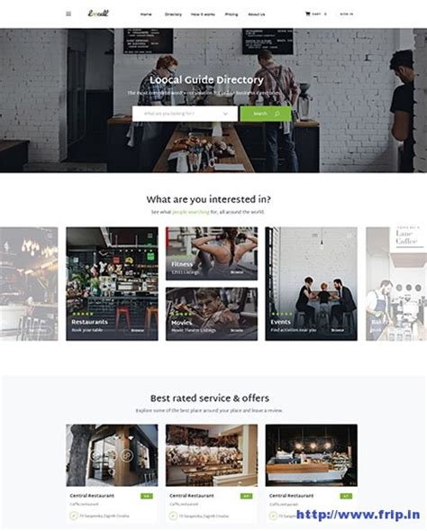 25 best html5 directory website templates 2017 frip in