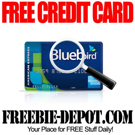 Free Background Check No Credit Card Required Free Bluebird Amex Card Freebie Depot