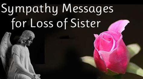 words of comfort for loss of sister sympathy messages for loss of sister