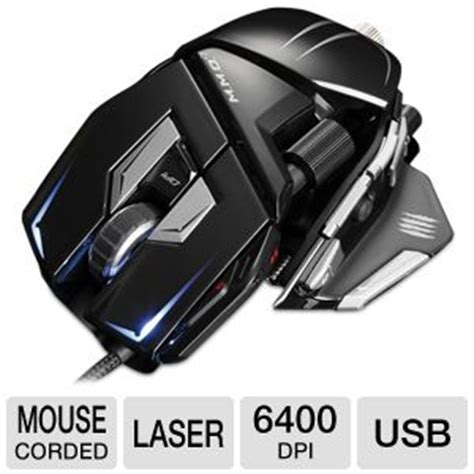 Mad Catz Pc Mcz Mmo7 Gaming Mouse mad catz m m o 7 gaming mouse usb 6400 dpi laser